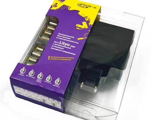 Адаптер питания для ноутбука KS-is Lityo (KS-274) 2USB, 90Вт