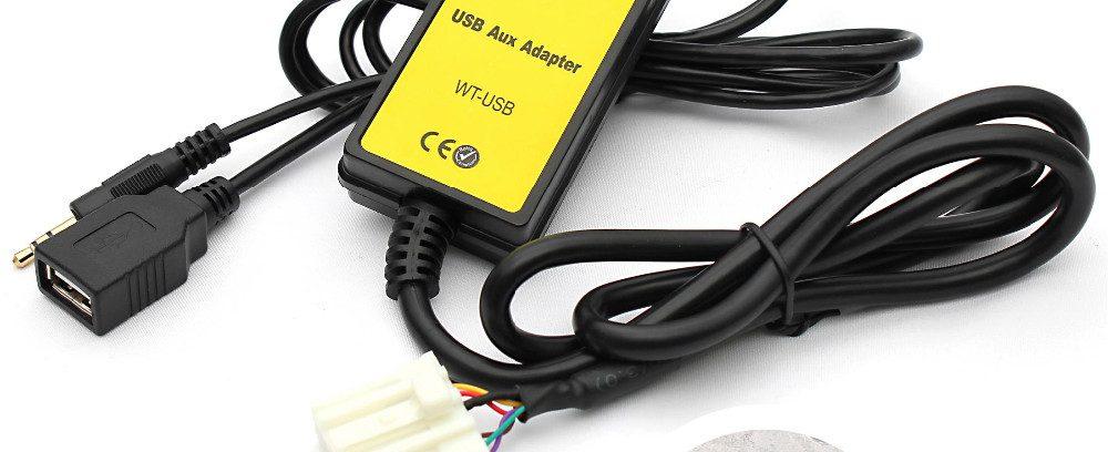 USB/AUX-Адаптер Moonet QX023==>>Штат.Магнитоле Mazda 5 323 Miata MX5 MPV RX8