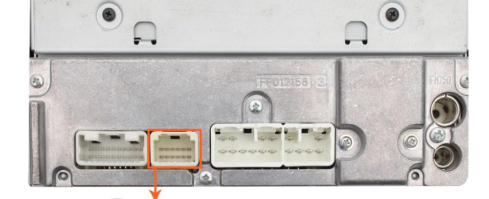 USB/AUX-Адаптер Moonet QX005==>>Штат.Магнитоле Toyota 12P(6+6) Avensis/RAV4/Tacoma/Tundra/Venza/Vitz/Yaris