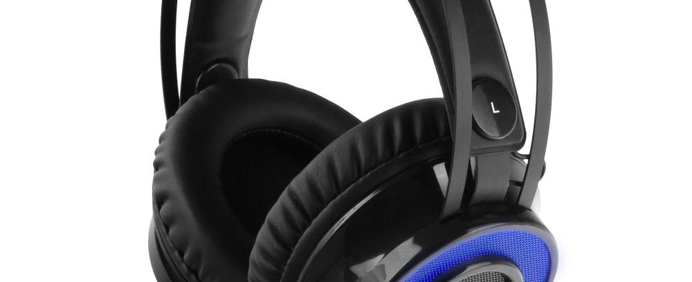 Игровая Гарнитура Gembird MHS-G500L Подсветка/Рег.громк/Шумоизоляция/2,5м