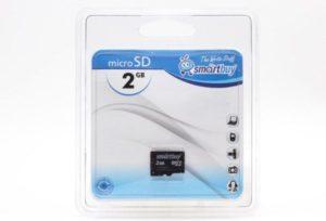 Карта памяти Micro Secure Digital Card 2GB Smart Buy