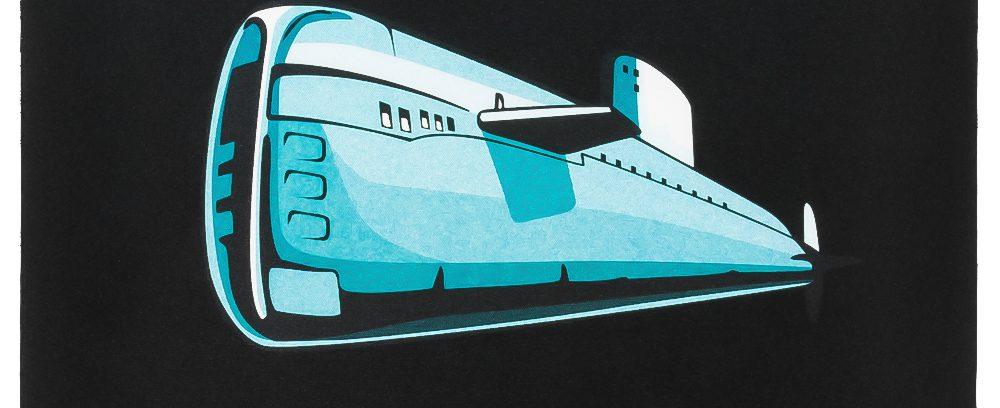 Коврик Gembird MP-GAME7/Подводная Лодка (250*200*3мм)