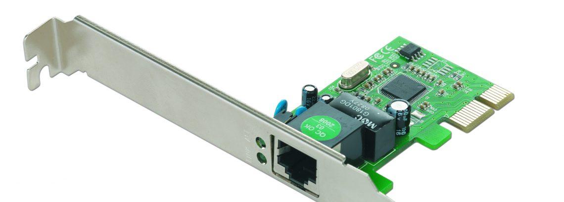 Сетевая карта PCI-E,Ethernet Gembird NIC-GX1 1000/100/10,чипсет RTL8111C