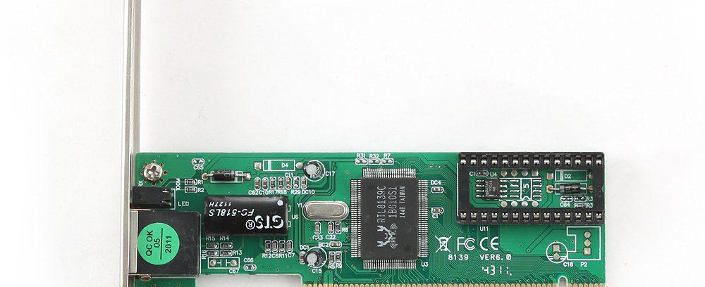 Сетевая карта PCI,Ethernet Gembird NIC-R1 100/10,чипсет RTL8139C