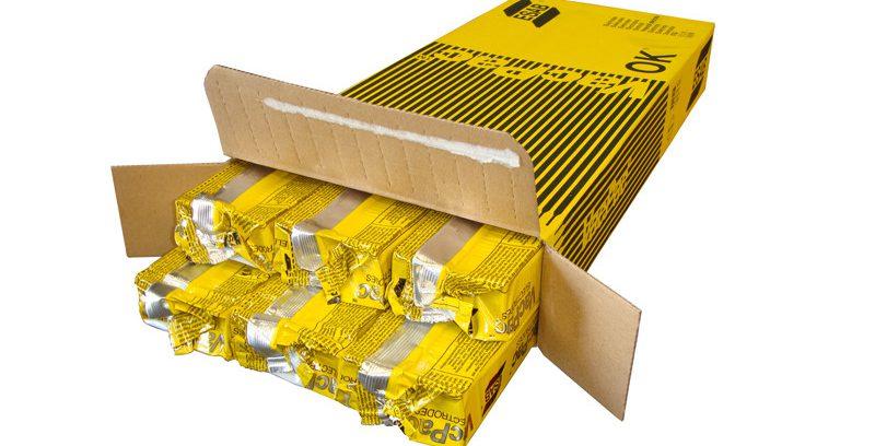 Сварочные электроды ESAB OK 61.80 (38шт. 2,5х300мм, 0,7кг) по Нержавейке