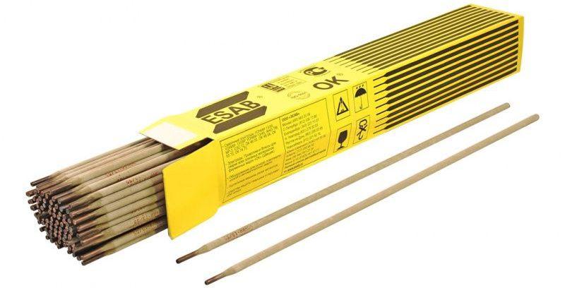 Сварочные электроды ESAB OK 74.70 (91шт.4,0х450мм,6кг) по маг-ным трубопроводам
