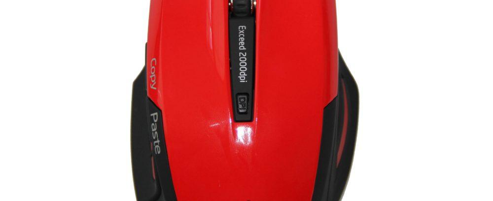 Мышь Jet.A Comfort OM-U54G Red беспроводная/5кнопок