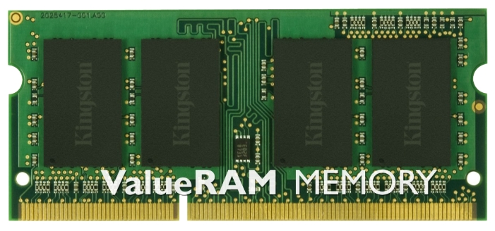 Модуль памяти для ноутбука DDR3 4GB KINGSTON KVR13C9G/4 (PC3-10600/1333MHz)