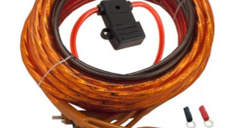 Набор проводов для 2-х кан.авто-усилителя,Incar PAC-210