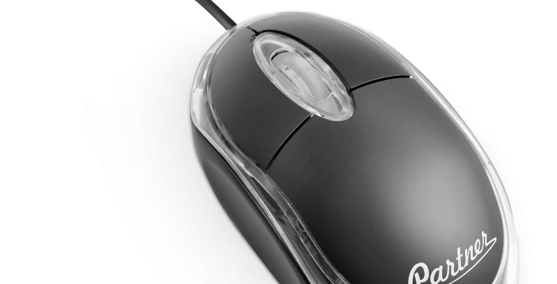 Мышь Partner Precise CM-010 3кн,1000DPI,USB, черная