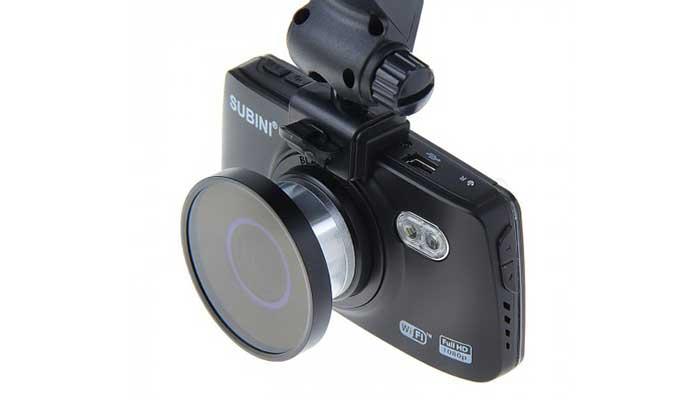 Видеорегистратор SUBINI DVR-R660 Wi-Fi/G-сенсор/1920*1080/Угол130°