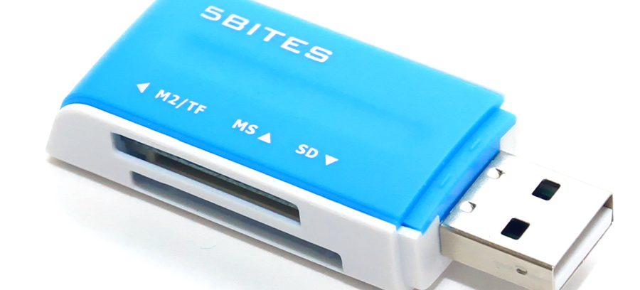Карт ридер 5bites RE2-102BL BLUE USB2.0/ALL-IN-ONE