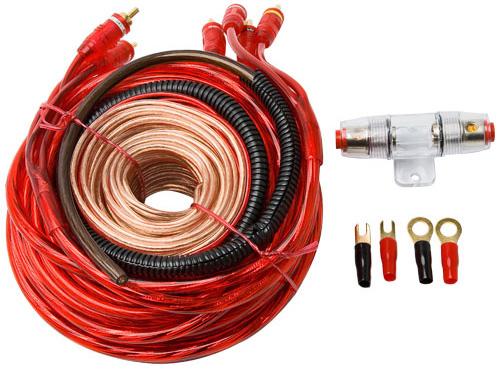 Набор проводов для 4-х кан.авто-усилителя SUPRA SAK 4.80