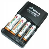 Заряд.устройство Nexcell SC-320B для AA/AAA Ni-MH,4канала,+ аккум-ры AA и AAA 4ш