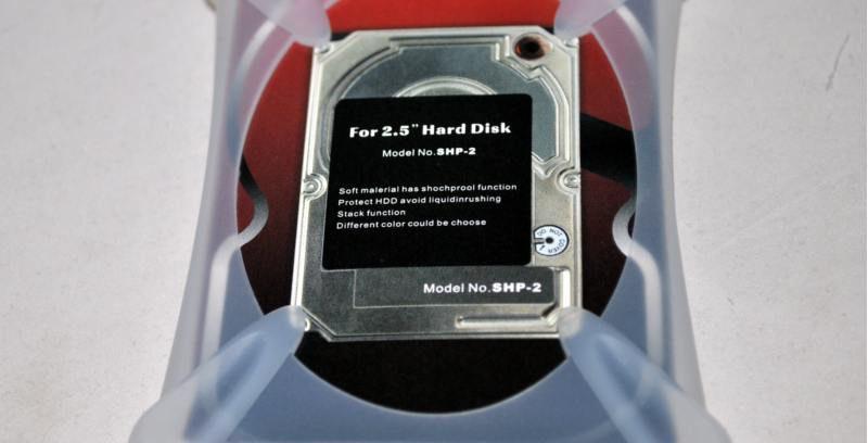 """Силиконовый чехол для 2,5"""" SATA-устройств AgeStar SHP-2-J Protect,Soft material"""