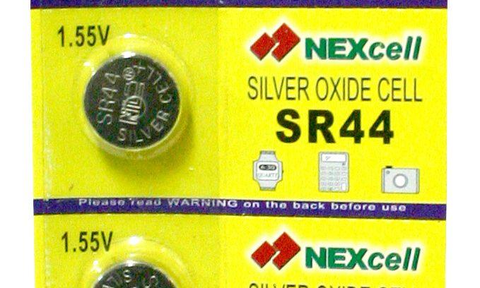 Батарейка SR44 Nexcell серебряно-цинковая 1.55V 1шт.