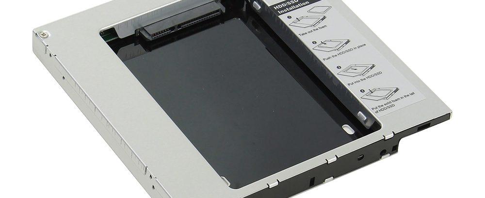Сменный бокс для 2.5'HDD/SSDв Ноутбук, AgeStar SSMR2S,SATA-SATA,металл-пластик
