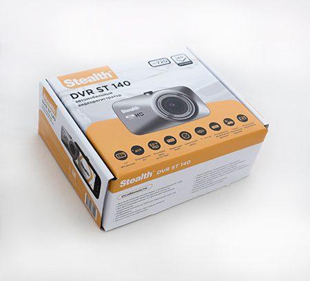 Видеорегистратор Stealth DVR ST140 720P/Цикл/Парковка/MicroSDдо32Gb