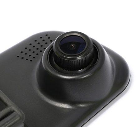 Видеорегистратор-Зеркало Stealth DVR ST120 2КАМЕРЫ/720P/Цикл/Парковк/Кам.Зад.Ход
