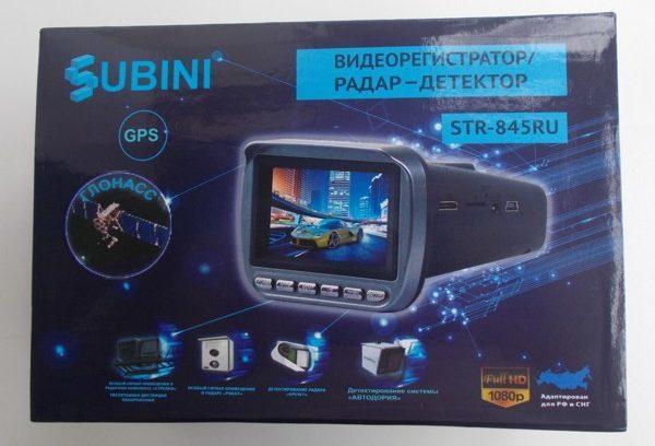 COMBO 3в1(Радар/Видеорегистратор/GPS-Информатор) SUBINI STR-845 (Голос/5Mgp)