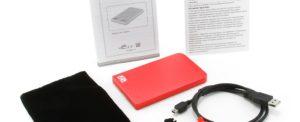 """AgeStar SUB2O1 red Внешний корпус для 2.5"""" SATA-устройств, USB2.0, алюм"""