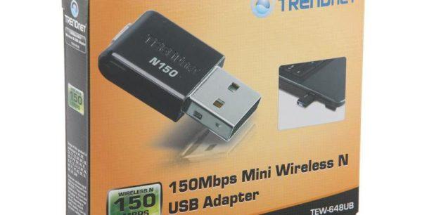 Беспроводной адаптер Wi-Fi Trendnet TEW-648UB USB.802.11n/g/b, 150Mbps