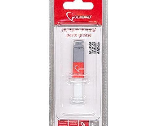 Термопаста Gembird TG-G1.5-01 для Радиаторов в шприце 1,5 гр