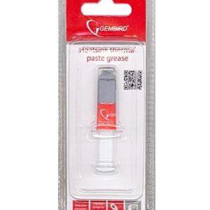 Термопаста Gembird TG-G1.5-01 для Радиаторов в шприце 3гр