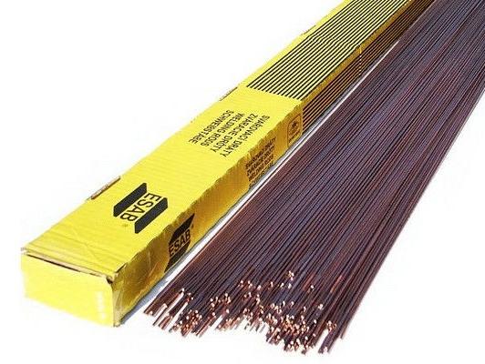 Присадочные прутки ESAB OK Tigrod 5183 (2,4x1000мм,2,5кг)