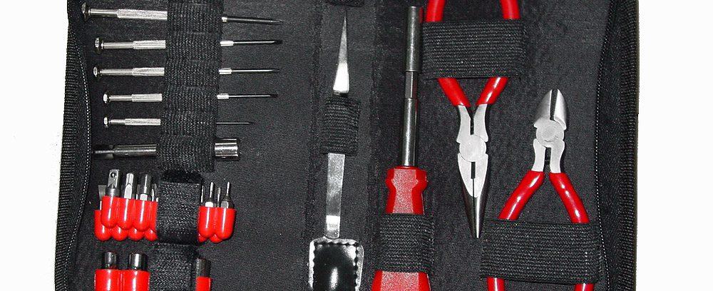Набор инструментов Cablexpert TK-HOBBY (12инструментов/31предмет)