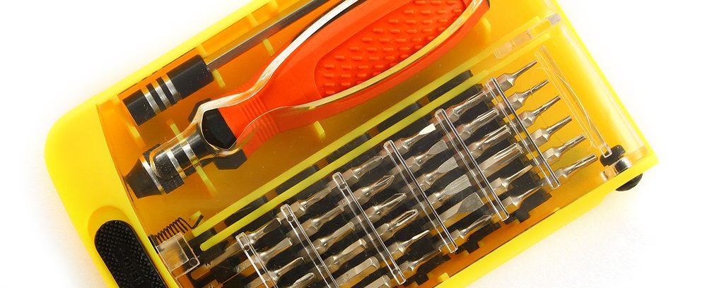 Отвертка с набором насадок Cablexpert TK-SD-03 для точных работ,35предметов