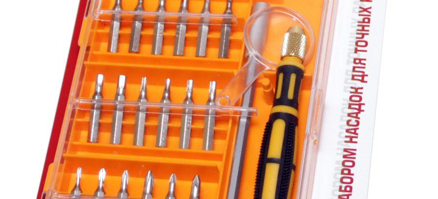 Отвертка с набором насадок 5bites EXPRESS TK040 для точных работ,21 предмет
