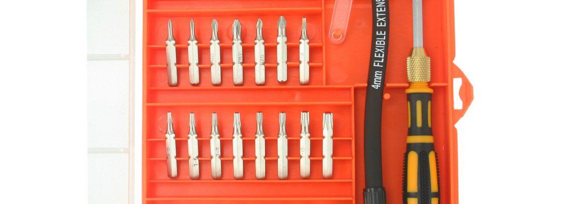 Отвертка с набором насадок 5bites EXPRESS TK041 для точных работ,34 предмета