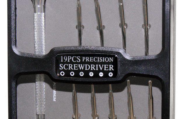 Отвертка с набором насадок 5bites EXPRESS TK046 для точных работ, 19 предметов