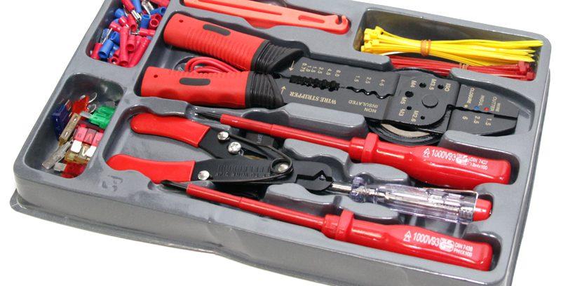 Набор инструментов и клемм 5bites EXPRESS TK500, 115 предметов
