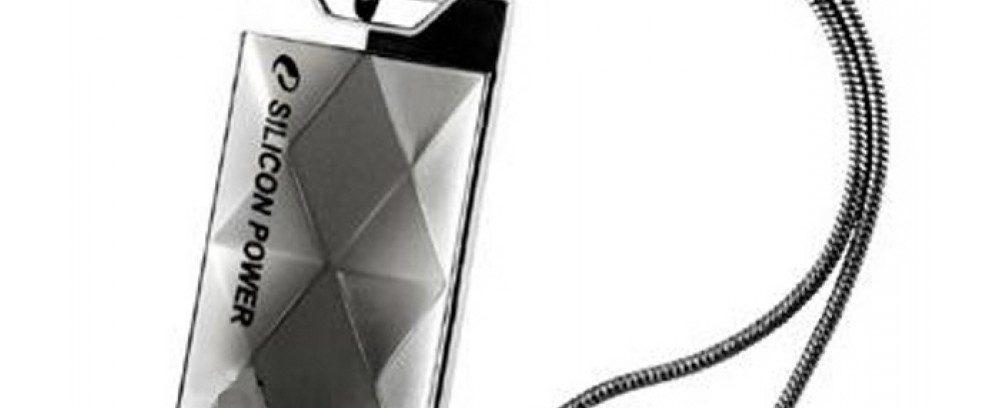 16Gb Флеш накопитель Silicon Power Touch 850 Titan/Металл/Водонеп/Противоуд