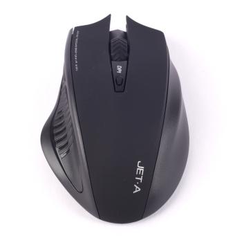 Мышь Jet.A Comfort OM-U34G Black беспроводная