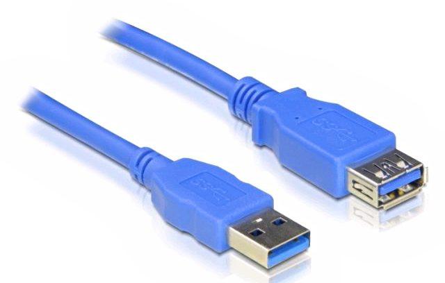 Кабель удлинитель USB3.0, AM/AF, 5bites UC3011-010F 1м.