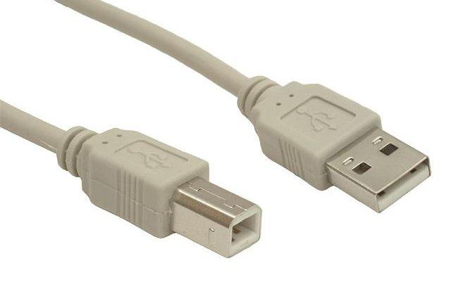 Кабель для принтера AM/BM 5bites UC5010-050C USB2.0, 5м.