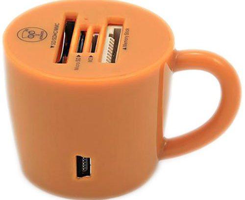 Карт ридер Konoos UK-24 SD/SDHC/MMC/microSD/MS/M2, внешнее (USB)