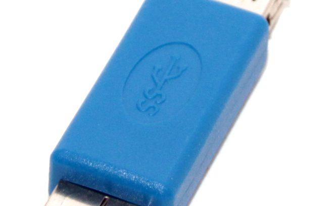Переходник USB3.0, AF / MICRO 5bites USB3003 для USB-Хардов