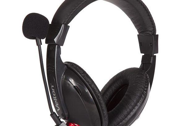 Наушники Velton VLT-2688 с микрофоном/рег.громкости