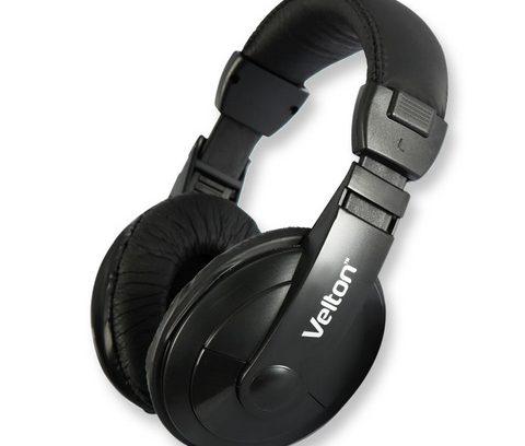 Наушники Velton VLT-H760 с микрофоном/рег.громкости