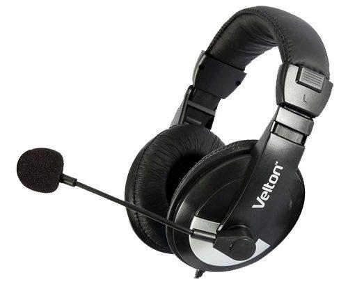 Наушники Velton VLT-H750 с микрофоном/рег.громкости