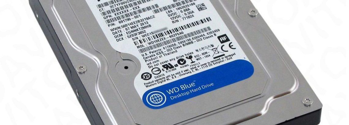 Жесткий диск 1Tb WD10EZEX (SATAIII,7200rpm,64Mb) Blue
