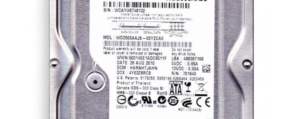 Жесткий диск 250Gb WD2500AAJS (SATAIII,7200rpm,8Mb)